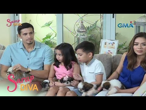 Sarap Diva: ​​Strict father si Marc Pingris