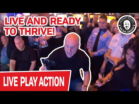 🔴 AT THE CASINO LIVE AGAIN!!! 🔴 Finally, We Can THRIVE & Win LIVE SLOT JACKPOTS