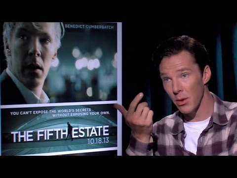 Benedict Cumberbatch- 'The Fifth Estate' Interview