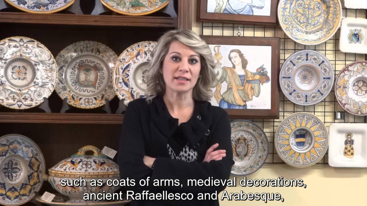 Deruta nel Mondo - Ceramiche Artemisia (eng sub) - YouTube