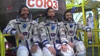 Повторная первая тренировка экипажей «Союз МС 02»