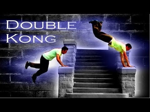 Learn parkour basic moves fr beginners watching videos: the kong.