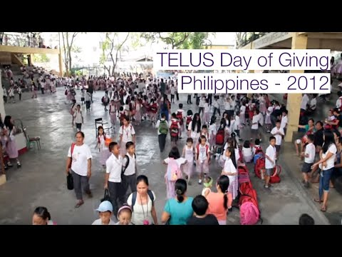 TELUS Day of Giving, Philippines - 2012