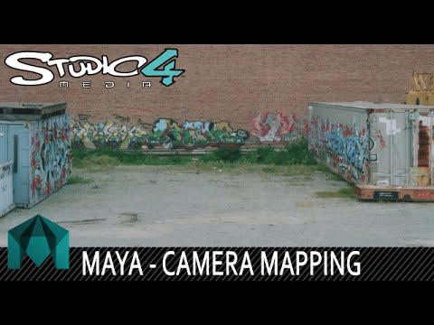 Camera Mapping in Maya