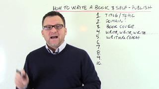 How To Write a Book & Self-Publish!