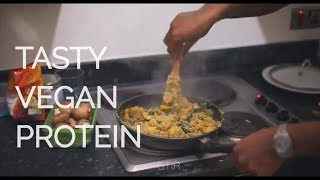 Simple Vegan High Protein Meal Prep Recipe | Vegan Bodybuilder