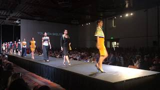Santa Fe Indian Market 2018 - Haute Couture Fashion Show - Yolanda Shelton