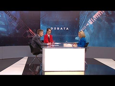 Insajder debata o nasilju parlamentu: Aleksandar Martinović i Maja Videnović
