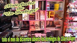 """Novedades de """"La Bodega"""" tienda del centro de cdmx"""