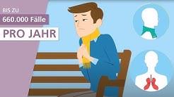 Was ist eine Lungenentzündung? | Stiftung Gesundheitswissen