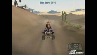 ATV Offroad Fury 3 PlayStation 2 Gameplay - Quarry