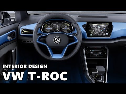 2018 volkswagen t roc interior preview youtube. Black Bedroom Furniture Sets. Home Design Ideas