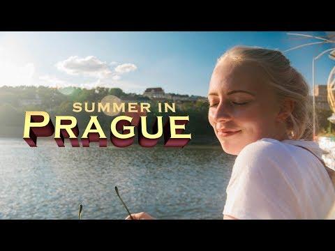 Summer In Prague (Travel Film) [GH4]