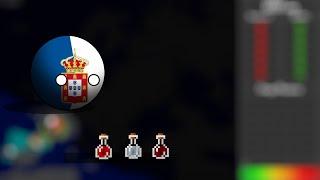COUNTRYBALLS Мир Майнкрафта 2 серия Португалия и зелье
