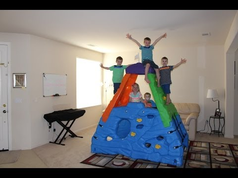 Step2 Skyward Summit Mountain Climber Coolest Toy EVER Review