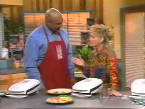 1996 George Foreman's Lean Mean Fat Reducing Grilling Machine Infomercial (Part 1)