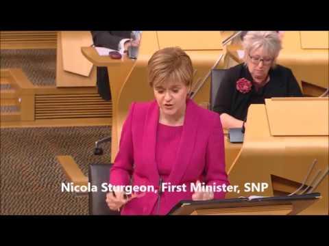 MSP challenges Sturgeon's feminism - badly!