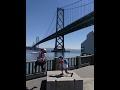 サンフランシスコ家族旅行。オークランドベイブリッジ〜フェリービルディング散歩 S…