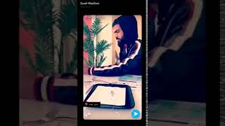 سارة الودعاني تكشف عن وجه زوجها للمرة الأولى منذ ارتباطها به..شاهدوا الفيديو