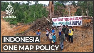 Indonesia's One Map: Indigenous groups fear being overlooked