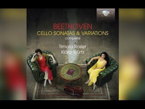 Beethoven: Complete Cello Sonatas & Variations (Full Album)