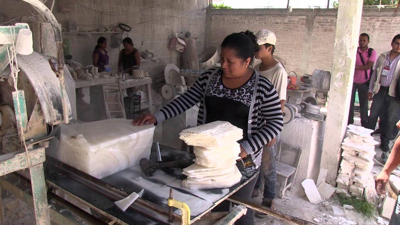 2 minerva trabaja el nix y el m rmol en tecali de herrera for De donde sacan el marmol