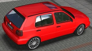 Volkswagen Golf III 2.0 GTI drive (Links) - Racer: free game