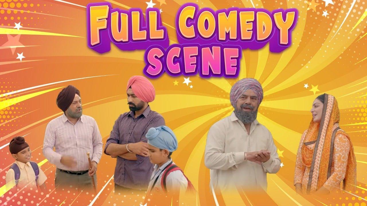 Download Punjabi Comedy Movie Scene | Full Comedy | Gurpreet Ghuggi | BN Sharma | Tarsem Jassar & Neeru Bajwa