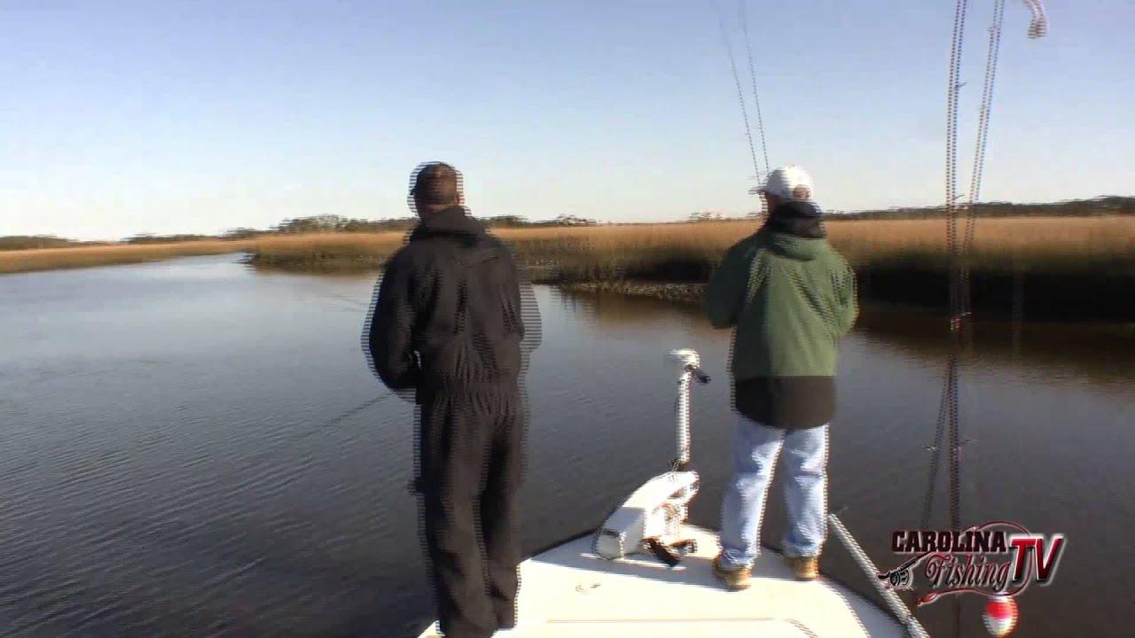 Carolina fishing tv season 3 14 southport redfish for Carolina fishing tv