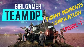 Gambar cover PUBG Mobile funny moments compilation |Team DP|  Ep-1