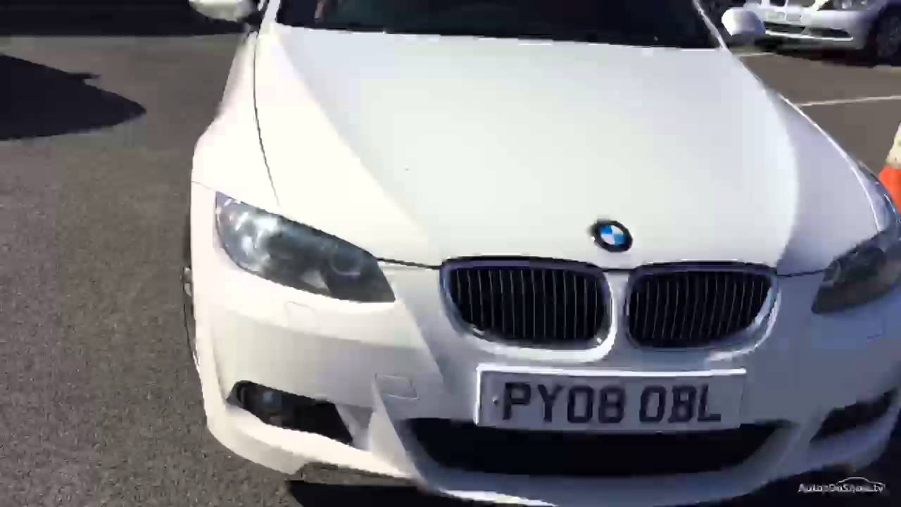 BMW 3 SERIES 335I M SPORT WHITE 2008