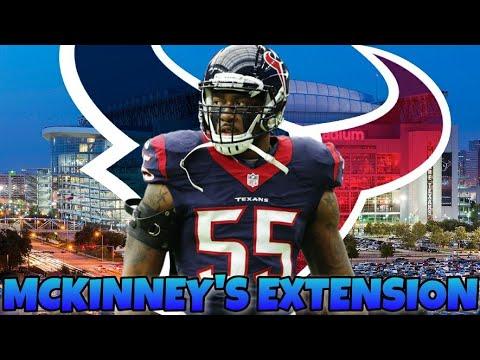 Texans Extend Benardrick McKinney!