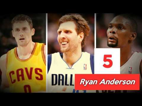 Top 10 3 Point Shooting Big Men in the NBA I 2014   2015 Season