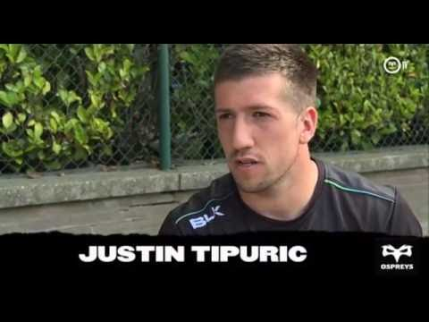Ospreys TV in Belgium: Justin Tipuric interview