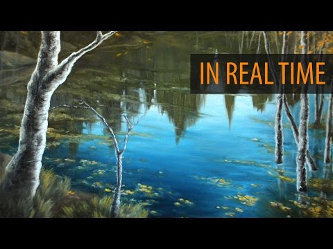 Painting A Reflective Pond - Ryan O'Rourke