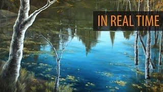 Painting A Reflective Pond - Ryan O