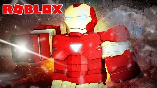 SIMULATOR OF THE STRONGEST AVENGERS-IRON MAN ROBLOX