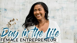 Day in the Life of an Entrepreneur - First Day After Quitting My Job | Female Entrepreneur