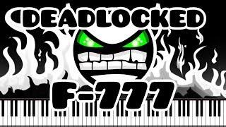Synthesia [Piano Tutorial] F-777 - Deadlocked (Geometry Dash lvl 20)