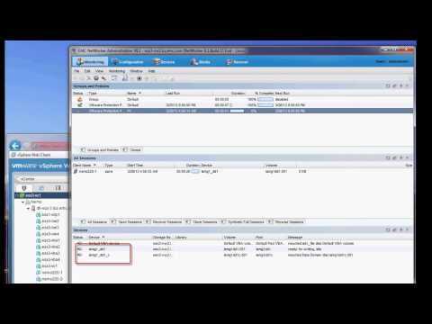 EMC NetWorker 8.1 VMware Backup and Recovery Demo