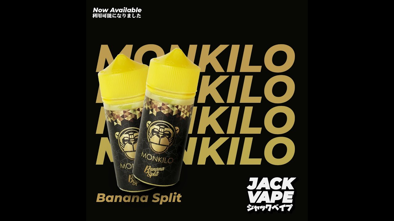 Download Jack Vape Jackvape vaping liquid Monkilo Banana Split