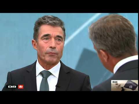 Fogh: Vi er nødt til at gribe ind militært i Irak - 21 Søndag
