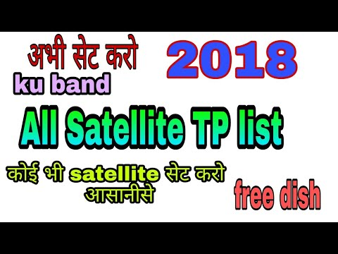 All ku band satellite strong TP and frequency 2018