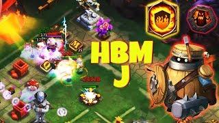 Marauder 8 FlameGuard | Can he solo HBM J ? | CASTLE CLASH