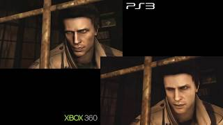 Silent Hill Homecoming - PS3 vs Xbox 360 Comparison
