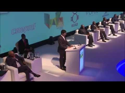 Arun Panchariya sebi Dubai | Arun Speaks at the West African Investment Forum 4