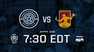 Detroit City FC at Chattanooga FC