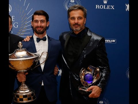 FIA Prize Giving 2016 – José María López and Yvan Muller look back on a sensational WTCC season