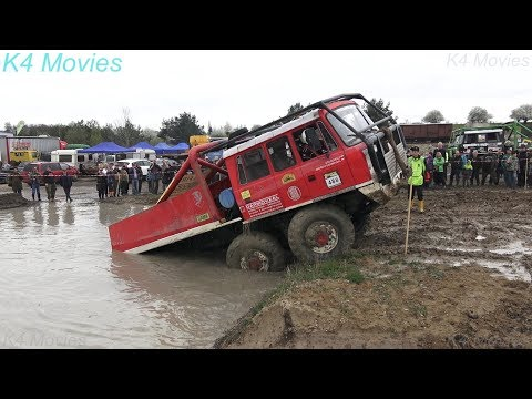 6x6 Truck Trial Tatra, Ural, Praga Off-Road Truck Competition | Milovice