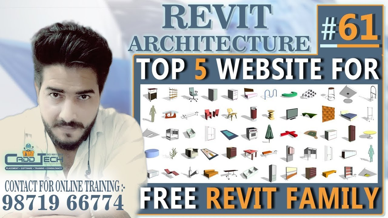 #61 | Top 5 Websites to Download Free Revit Families and Components |